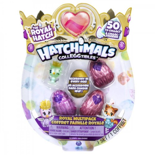 PACK 5 HATCHIMALS S6 SPIN MASTER 6047212
