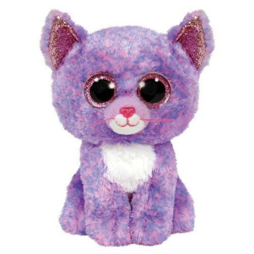 PELUCHE TY CASSIDY LE CHAT JURATOYS TY36486