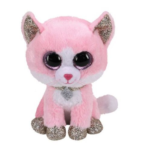 PELUCHE TY FIONA LE CHAT TY36489
